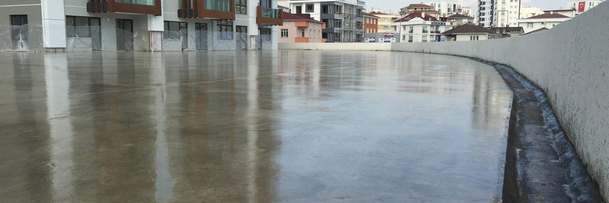 polyurea sprey zemin hazırlığı