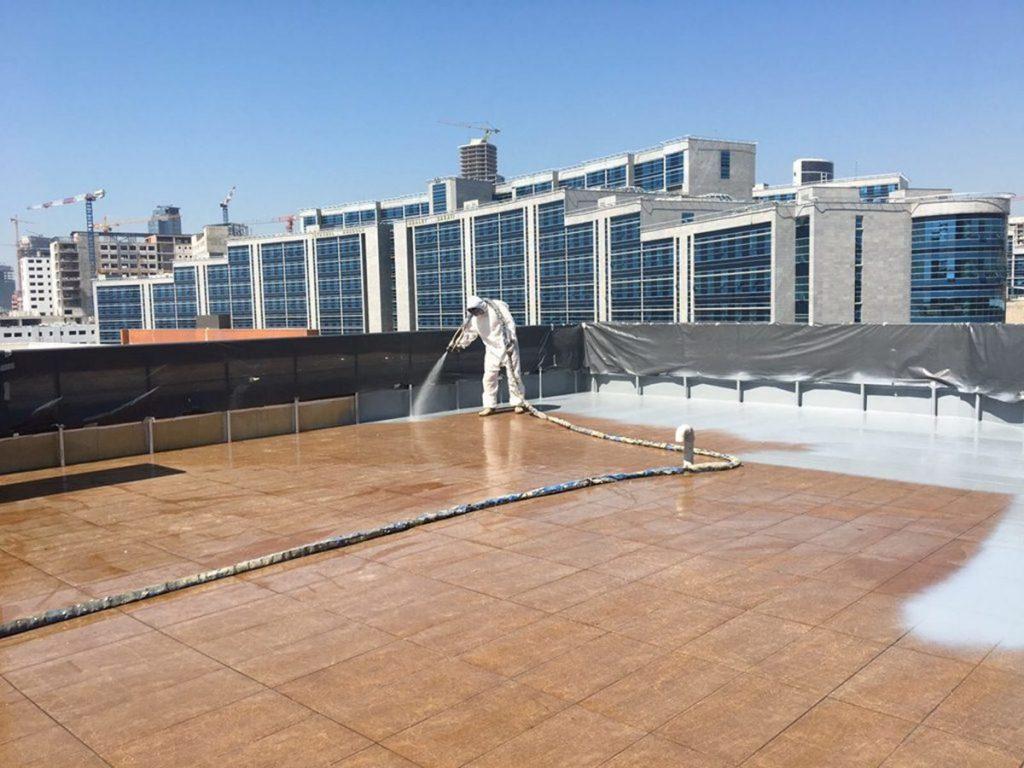 sprey polyurea teras izolasyonu