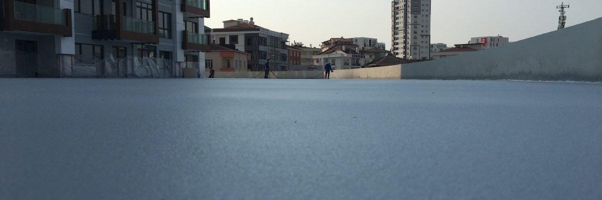 sprey polyurea zemin kaplama uygulaması